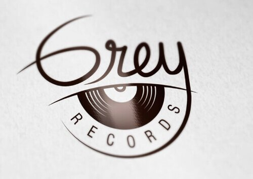 Branding GREY RECORDS - Bucaramanga Dardo Creativo